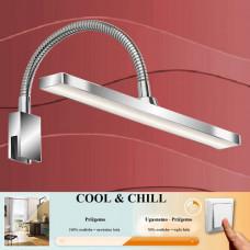 2241-018 Led kopalniška svetilka COOL&CHILL IP44 za montažo na steno, pohištvo ali ogledalo (3v1)