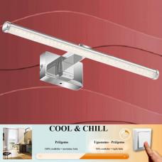 2242-018 Led kopalniška svetilka COOL&CHILL IP44 za montažo na steno, pohištvo ali ogledalo (3v1)