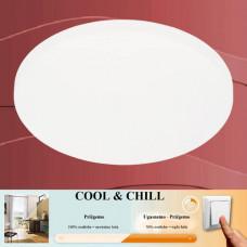 3139-116 Led kopalniška plafonjera ali led kopalniška stropna svetilka COOL&CHILL IP44