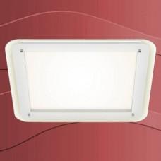 3397-016 Tanek led panel z ambientalno osvetlitvijo in steklenim dodatkom 22W