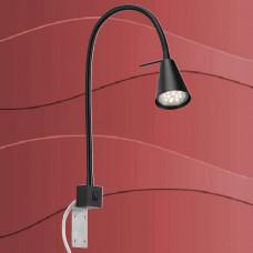 2080-015 Led svetilka za montaža na ogrodje postelje,... s priključnim kablom in stikalom