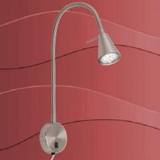 2082-012 Led stenska svetilka s priključnim kablom in stikalom