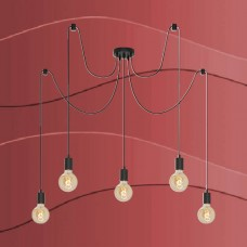 4104-055 Viseča rustikalna svetilka