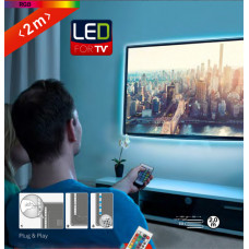 2353-024 Led trak za ambientalno osvetlitev Led TV RGB - 2m